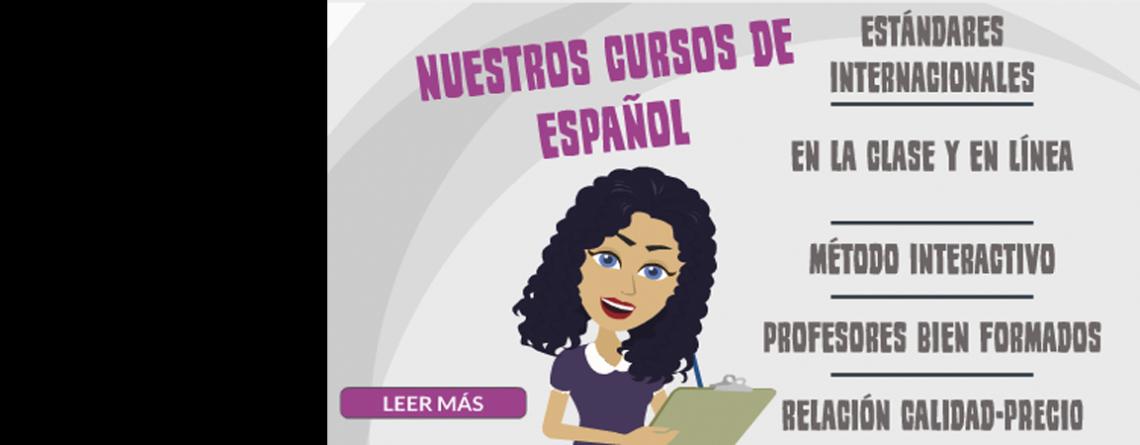 Nuestros Cursos de Español