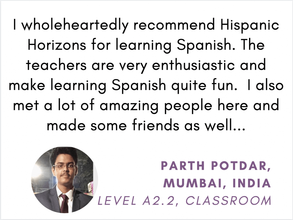 Hispanic Horizons Reviews